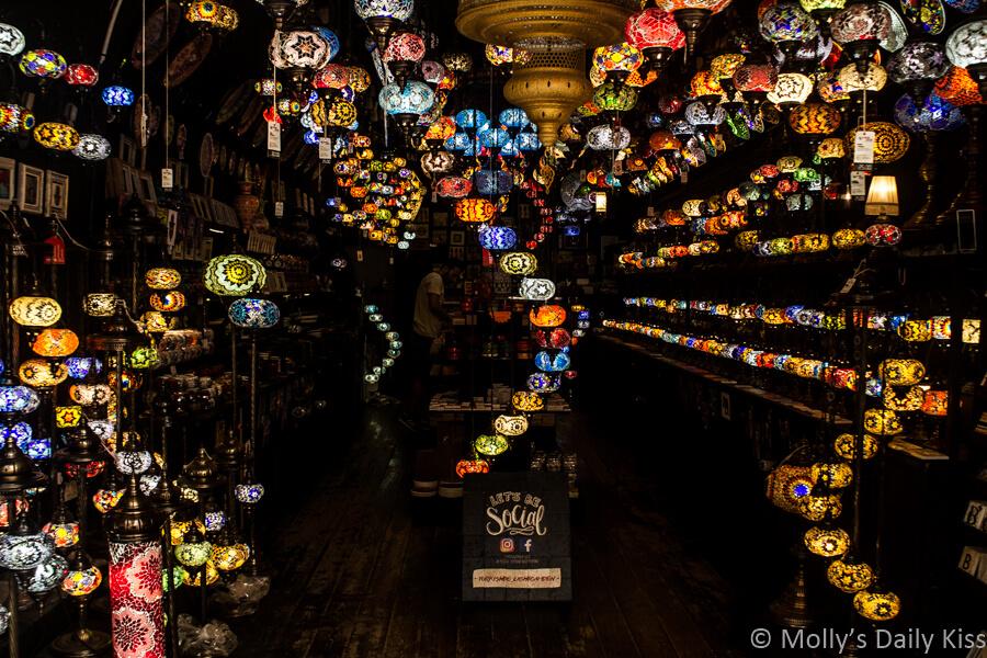 light shop in camden market