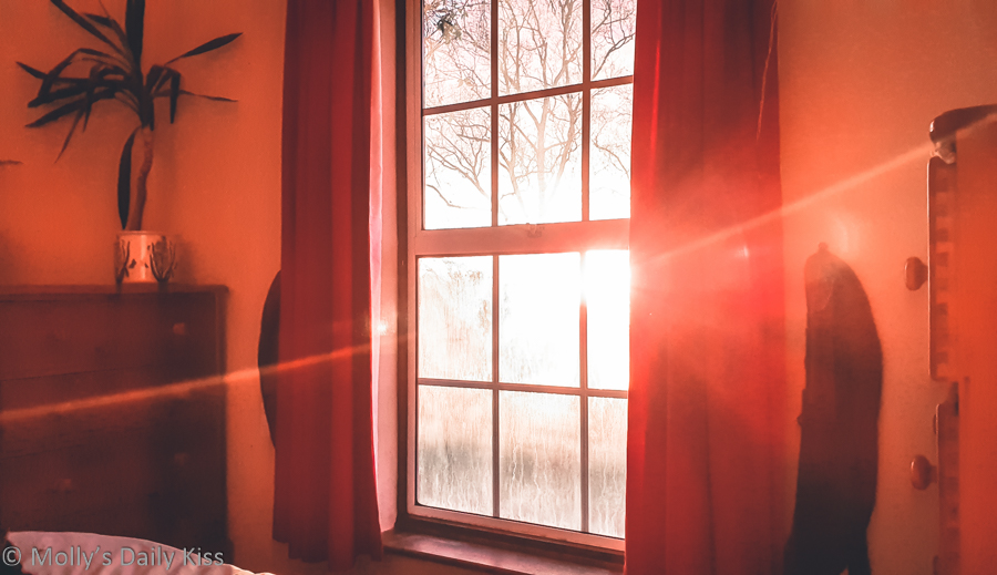 morning light through window is a blessing