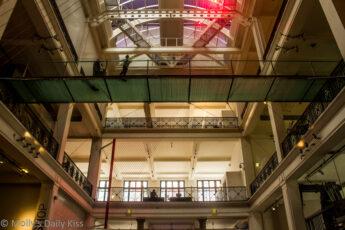 Sciene museum london ceiling